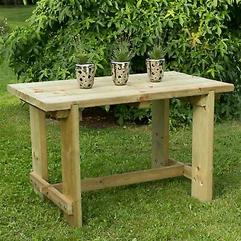 Forest Garden 4 Seat Refectory Table -  1.2m