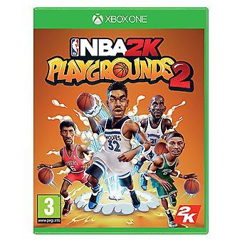 NBA 2 K 遊び場 2 Xbox 1 ゲーム