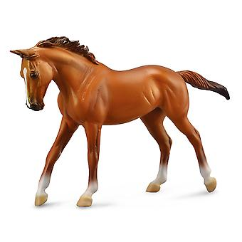 CollectA Thoroughbred Mare Chestnut Deluxe 1:12 Scale