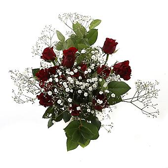 Bunch of Flowers Amoure, red | Height: 55 cm