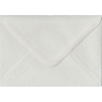 White Hammer Gummed Gift/Place Card Coloured White Envelopes. 100gsm FSC Sustainable Paper. 70mm x 110mm. Banker Style Envelope.