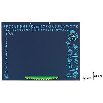 Palau schoolbord met tas en kleine plank