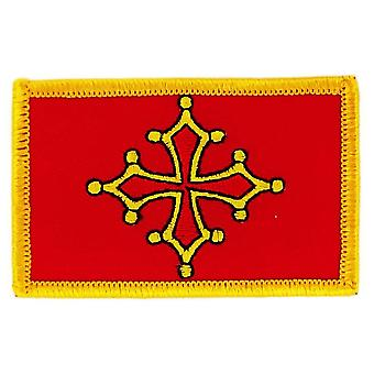 Patch Patch Brode Bandiera Occitania Thermocollant Insigne Blason