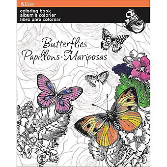 Trends Coloring Book -Butterfly AZ10-12