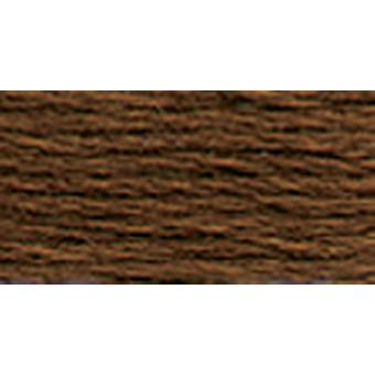 Dmc Tapestry & Embroidery Wool 8.8 Yards Very Dark Golden Tan 486 7513