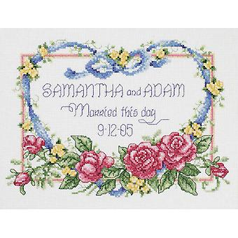 Married This Day Counted Cross Stitch Kit 10
