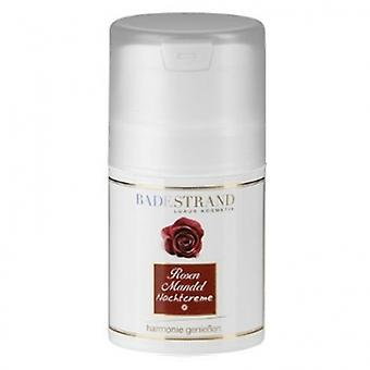 Beach rose & almond night cream 50 ml