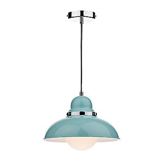 Dinamo con doppio isolamento soffitto pendente In Gloss blu pallido