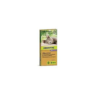 Drontal Cat Allwormer 4kg 4