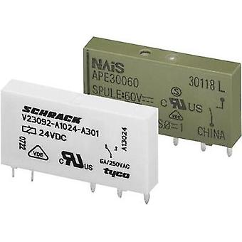 PCB relays 24 Vdc 6 A 1 change-over WAGO 857-152 1 pc(s)
