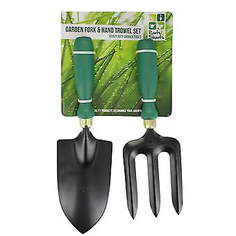 Roots & Shoots Garden Fork & Hand Trowel Set