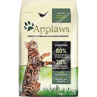 Applaws kat tør Adult kylling med lam 2kg