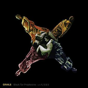 Grails - Grails: Vol. 4-6-sort tjære profetier [Vinyl] USA import