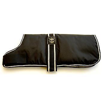 Padded Waterproof Coat Black 20cm (8