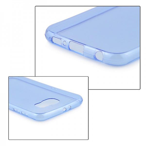 Silikoncase Blau 0.3 mm ultra thin case for Samsung Galaxy S6 G920 G920F