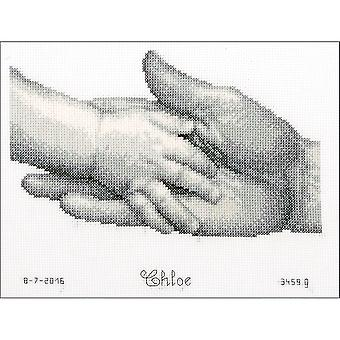 Hands On Aida Counted Cross Stitch Kit-8.5