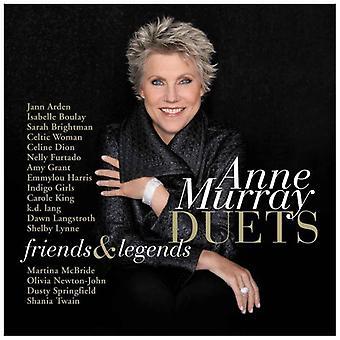 Anne Murray - duetter venner & legender [CD] USA import