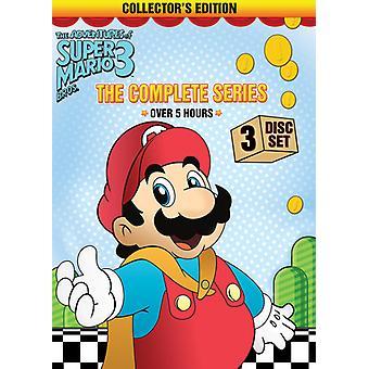 Eventyr af Super Mario Bros 3: komplet serie [DVD] USA import