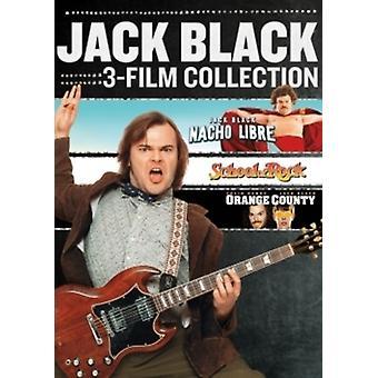 Jack Black (Collection de 3-Film) import USA [DVD]