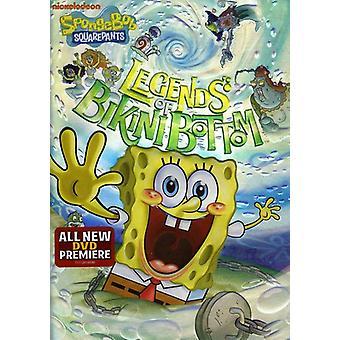 Spongebob Squarepants - importación de Estados Unidos leyendas de fondo de Bikini [DVD]
