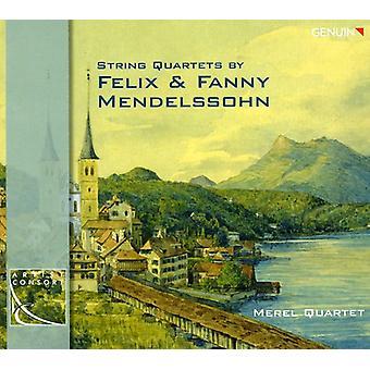 Mendelssohn-Bartholdy/Hensel - cuartetos de cuerda por Felix y Fanny Mendelssohn [CD] USA importación
