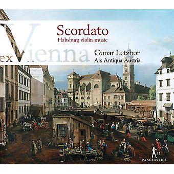 Schmelzer / Ars Antiqua Østrig / Letzbor - Scordato - habsburgske Violin musik [CD] USA import