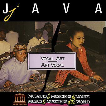 Forskellige kunstner - Java: Vocal kunst [CD] USA import