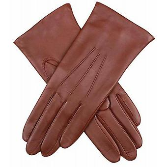 Dents Emma Classic Hairsheep Leather Gloves - Chestnut