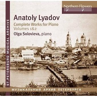 Soloviova - Lyadov: Værker for klaver 1 [CD] USA import