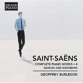 Saint-Saens / Burleson - Saint-Saens / Burleson: komplet Piano Works 4 [CD] USA import
