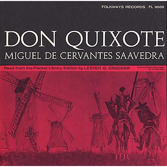 Lester G. Crocker - Don Quixote: By Miguel De Cervantes Saavedra [CD] USA import