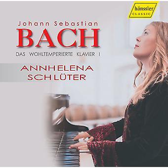Bach, J.S. / Schlüter - Bach; J.S.: Das Wohltemperierte [CD] USA importerer