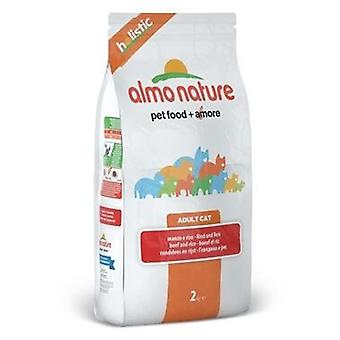 Almo nature Holistic Beef & Rice (Cats , Cat Food , Dry Food)