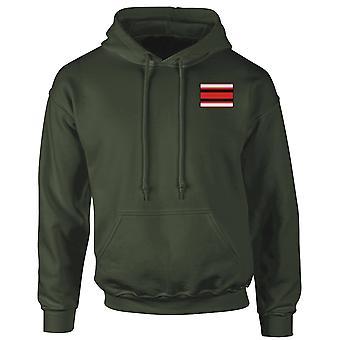 Queens Alexandra Nursing QARANC Embroidered TRF Logo - Official British Army Hoodie Hooded Sweatshirt