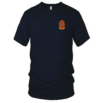 USMC 1st Marine Wing Communication Squadron MWCS Military Vietnam War Embroidered Patch - Mens T Shirt