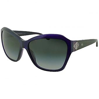Ralph Lauren Ralph Lauren Ladies Dark Purple Butterfly Sunglasses With Gradient Lenses