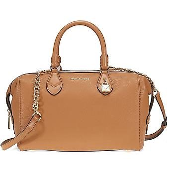 Michael Kors Grayson Leather Satchel - Acorn - 30F7GGYS3L-532