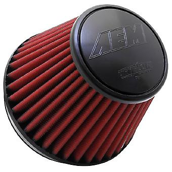 AEM 21-210EDK Universal DryFlow Clamp-On Air Filter: Round Tapered; 6 in (152 mm) Flange ID; 6 in (152 mm) Height; 7.5 i