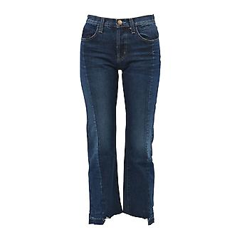 Current Elliott women's 1876CASSADY blue cotton of jeans