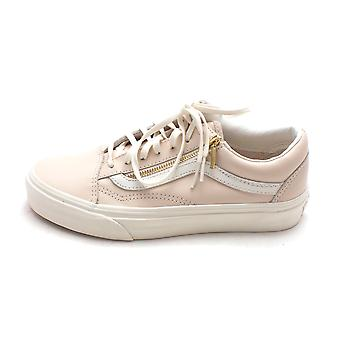 Vans Womens Old Skool Zip låg topp spets upp mode Sneakers