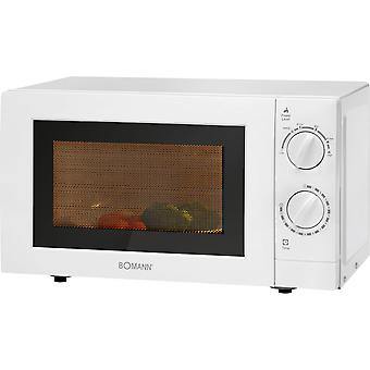 Bomann microwave 20 litres white MWG2288