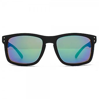 M:UK Dalston Rectangle Sunglasses In Black