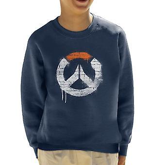 Overwatch Graffiti Logo Kid's Sweatshirt