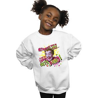 DC Comics Girls Batman TV Series Joker Bang Sweatshirt