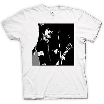 Womens T-shirt - Green Day - Billy Joel - BW