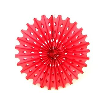 Décoration Big Red Sun Honeycomb Fan Hanging