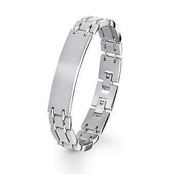 s.Oliver jewel mens bracelet ID stainless steel 2020907