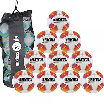 10 x DERBY STAR youth ball - STRATOS PRO S-LIGHT includes ball sack