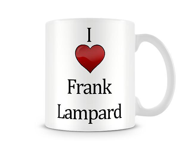 I Love Frank Lampard Printed Mug