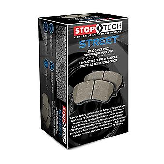StopTech 308.00520 Street Brake Pad (Front with Shims and Hardware), 5 Pack